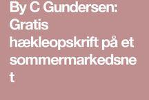 hækle opskrifter dansk