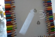 Recyling old pencils