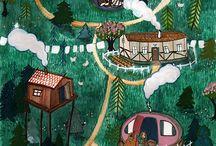 Signe Gabriel Illustration / Artwork and illustrations by Signe Gabriel.