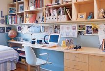 Kids' Spaces / Playrooms, kiddie furniture and decor that is not gender specific, kids' shared spaces, libraries, treehouses
