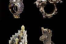 Modern fantastic jewellery