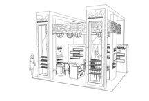 NSI Nails Trade Show Booth / NSI Nail trade show booth / by kimmodesign