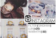 Обработка фото в Instagram