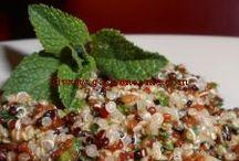 Salades et autres accompagnements pour l'été / l'été c'est la période des buffets, des grillades, des salades...