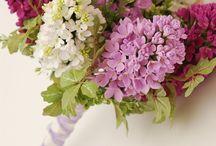 Цветы из полимерной глины / Flower  polymer clay