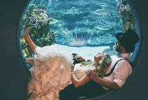 Wedding Inspiration from the NC Aquarium at Fort Fisher
