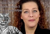 Free Online Face Paint Lessons