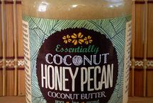 Butter Pecan Coconut Butter / Organic coconut, pecans, coconut sugar