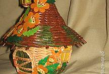 плетеные домики