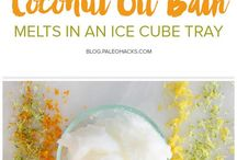 Coconut  oil  bath cubes