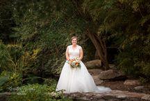 Bridal Portrait Sessions / Bridal photos shot by Jennifer Weems Photography