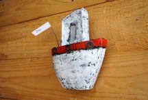 My etsy shop(etsy.com/irineART) / Etsy shop, paper mache art, paper jewelry, home decoration, unique art object