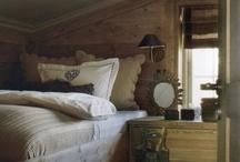 Farge vegg hytte