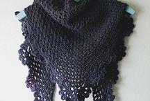 chales y ponchos crochet