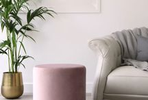 Danetti | Plaza Velvet Stool / New for 2018 is our beautiful range of subtle yet stylish Velvet Furniture. From pretty blush pinks to deep sapphire blues, and compact poufs to statement benches, browse the new collection right here.