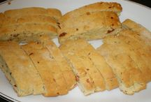 Italian cookies, savory & sweet