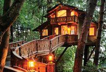 Tree houses I love