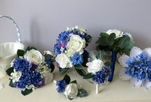 Silk Wedding Bouquets / Silk flowers for wedding bouquets, buttonholes, ideal as a keepsake.