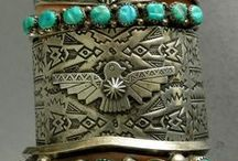 turquoise and silver / by Stitch Ross