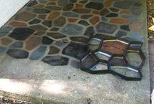 Бетонные дворики