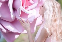 Цветы большие