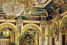 interior decoraton as in castles- sisustus kuin linnoissa