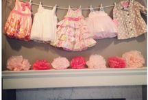 Baby Girl Showers / Two baby girls on the way.  Ideas for two different showers. / by Deborah Lecker