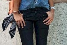 Blue jeans shirt