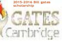 2015-2016 Bill gates scholarship & Other Top Scholarships / scholarshipsbar.com is an updated listing of scholarships for people who seek financial help to pursue higher studies at college, university level, and for those who like to participate in training program and to those who who like to conduct research either in their country or abroad.