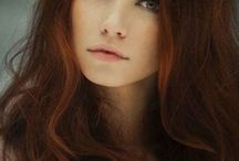 Brown hair reddish
