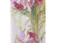 орхидея роспись