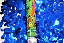 Tunuri de confetti