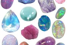Opal & Tourmaline, Birthstones of October