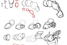 描き方;腕