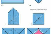 Cathedral Window Quilt Ideas