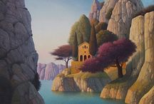 Evgeni Gordiets / schilderkunst