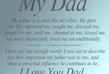 Father ■ Art ■ Poems ■ Quotes / by Anita Vasquez-Centeno