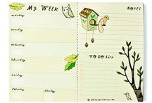 calendars/planners