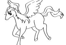Fantasy Coloring Pages / Cute fantasy themed coloring pages for everyone! / by Coloring Printables