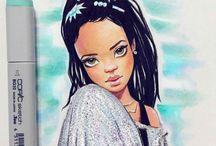 celebrity drawings
