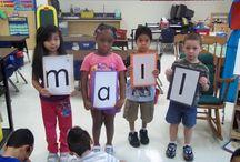 Kindergarten Literacy - Onset/Rime
