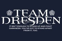All Dresden All the Time / Dedicated to Harry Dresden, wizard extraordinaire