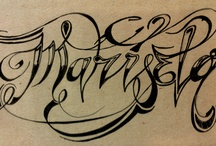 Lettering / by Eric Ceballos