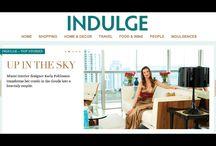 kStudio Miami + Indulge Miami Herald - Home Issue / Indulge Miami Herald Magazine