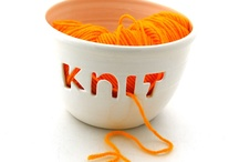 Orange / Orange fruits and orange coloured knits and crafts