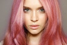 Pastel and Punky Hair! / Inspiration for pastels and punky colours. Be sure to talk to your stylist about individual options.