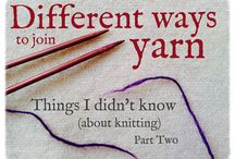 Knitting / by Simply Done Crochet