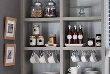 Coffee Bar für zuhause / Ideen für eine Kaffee Bar in deiner Küche. Kaffee Station zuhause in der Küche