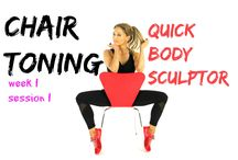 CHAIR TONING EXERCISES / Get fit at home just by using a chair.