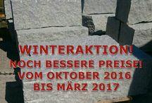 WINTER-RABATT 2016/2017 - Firma B&M GRANITY / FIRMA B&M GRANITY - WINTER-PREISE AUF UNSERE AUSGEWÄHLTEN PRODUKTE AUS NATURSTEINEN...VOM OKTOBER 2016 BIS MÄRZ 2017...
